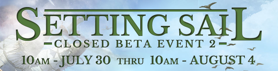 ArcheAge Closed Beta Event 2 Details