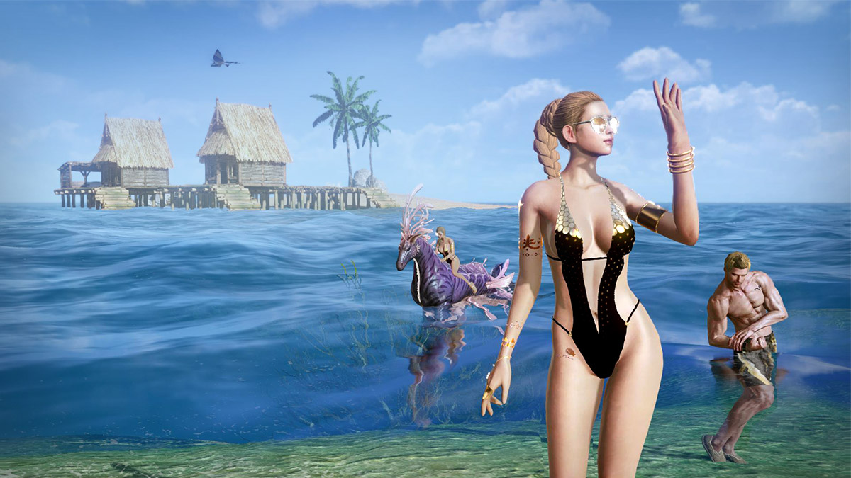 New Swimsuit, New Aquatic Mount