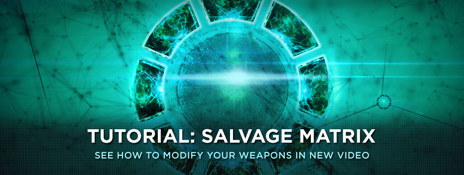TUTORIAL: SALVAGE MATRIX
