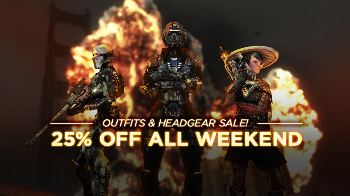 25% OFF ALL WEEKEND