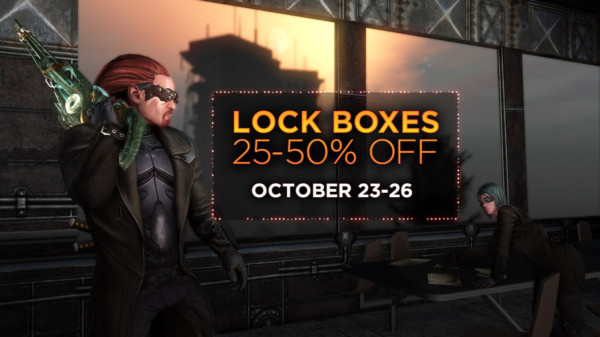 LOCK BOXES 25-50% OFF