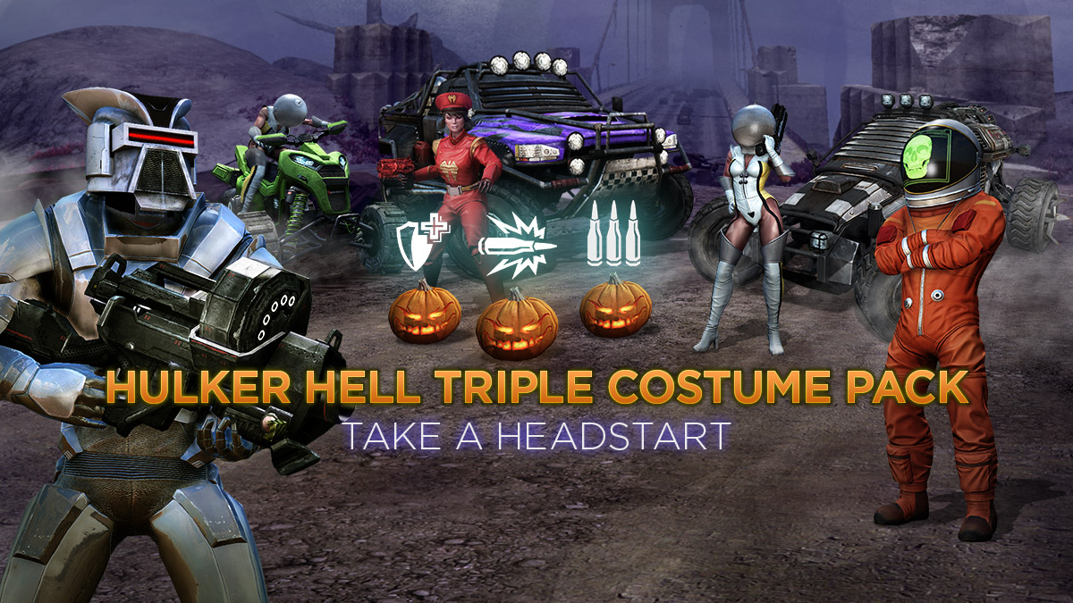 Triple Costume Pack