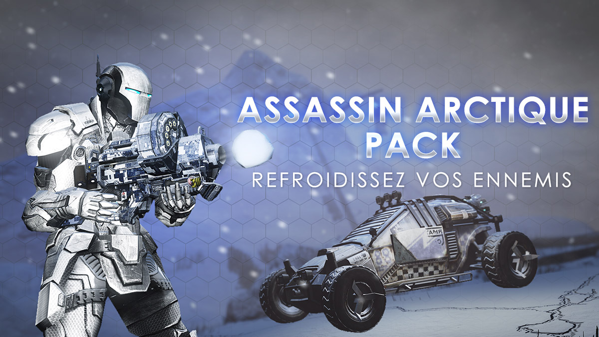 Pack Assassin arctique