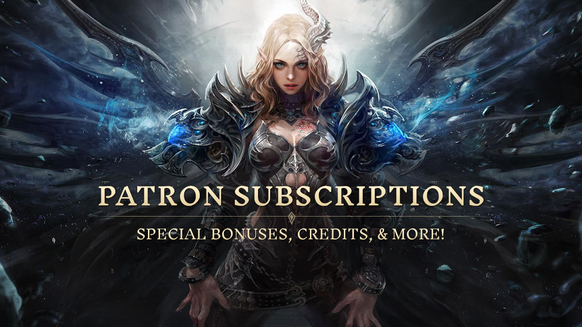 PATRON SUBSCRIPTIONS