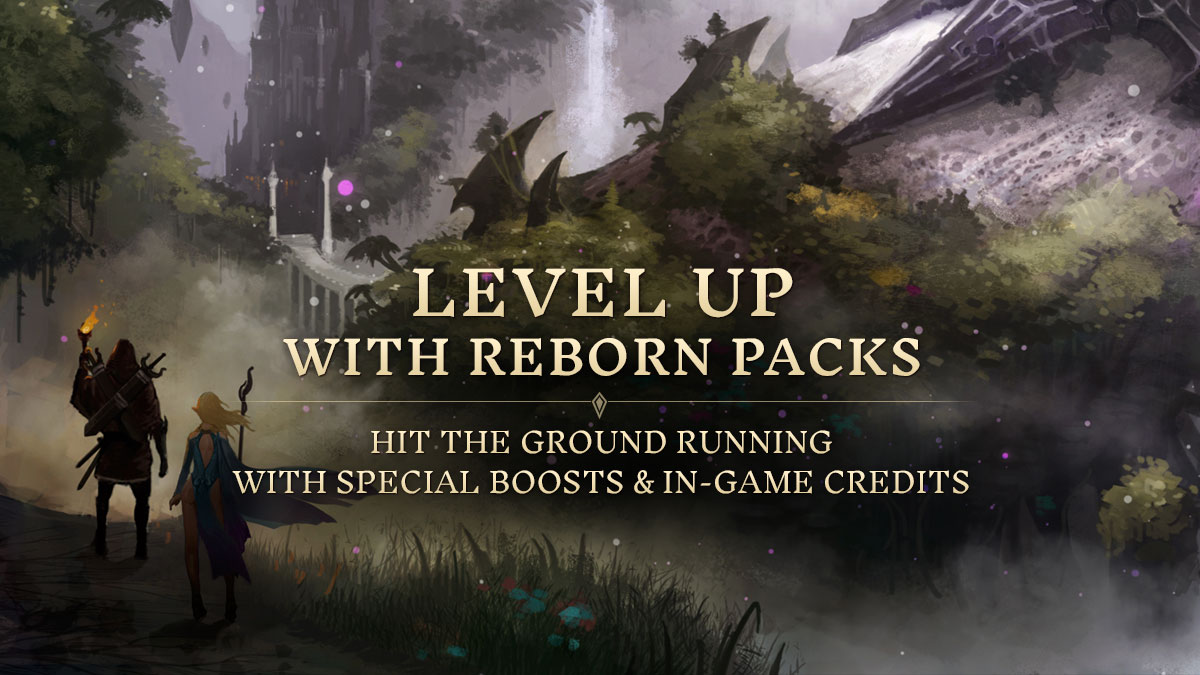 LEVEL UP WITH STARTER PACKS