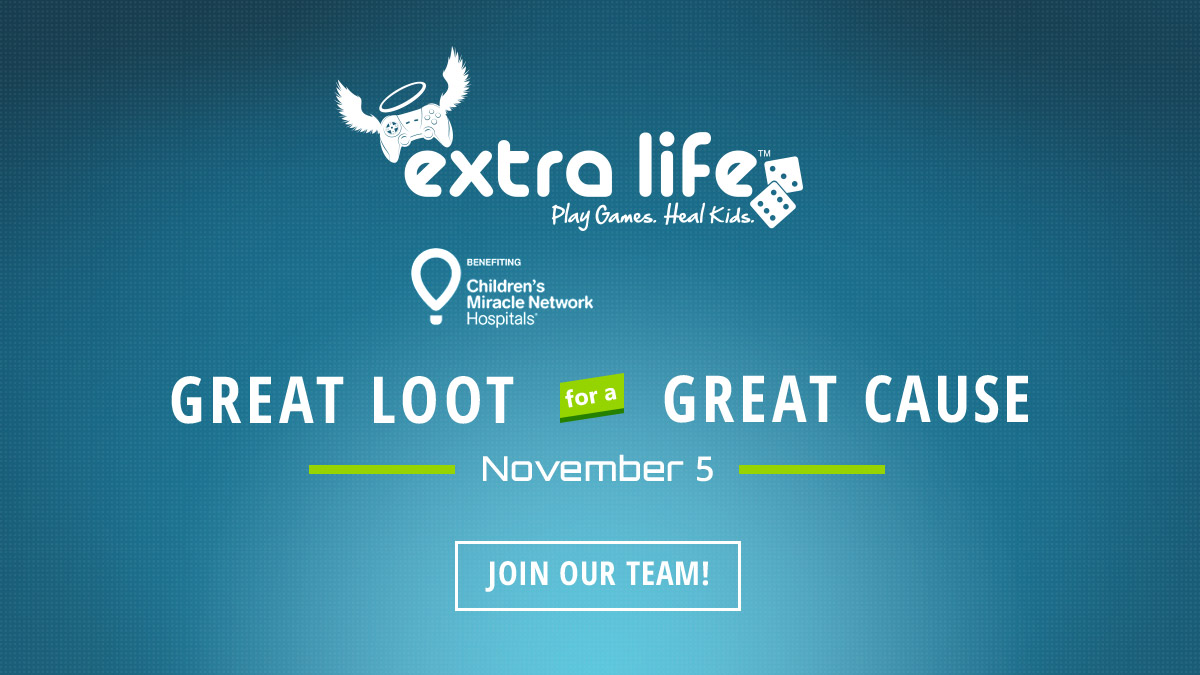 Extra Life™ Play Games. Heal Kids.