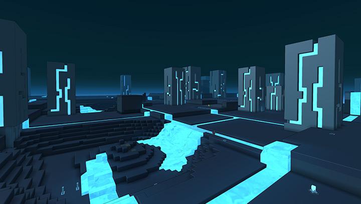 Neon City - Biome - Trove