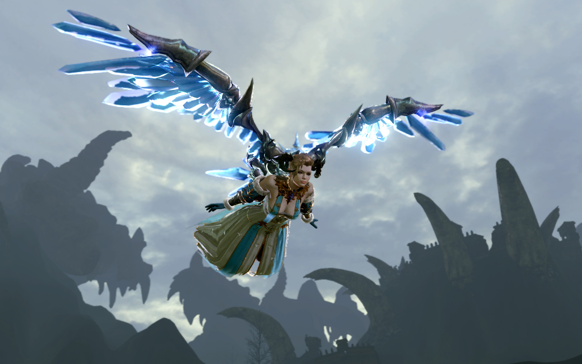 archeage crystal wings glider
