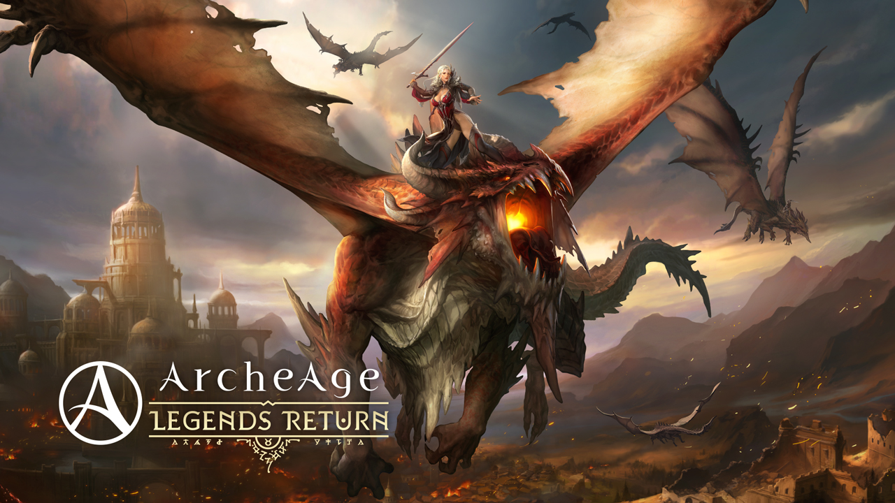 ArcheAge 4.5 – Legends Return (Launch Trailer)