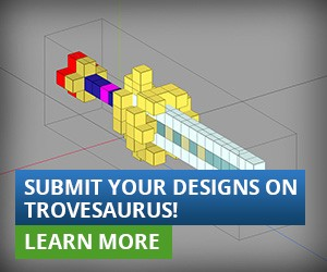 Submit your designs on Trovesaurus!